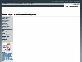 sciuridae.co.uk screenshot