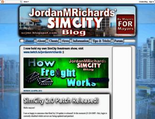 scjmr.blogspot.com screenshot