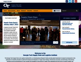 scl.gatech.edu screenshot