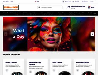 sclera-lenses.com screenshot