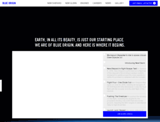 scm.blueorigin.com screenshot