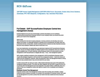 scn-sap.com screenshot