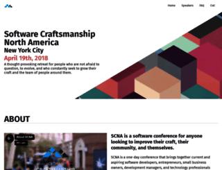 scna.softwarecraftsmanship.org screenshot