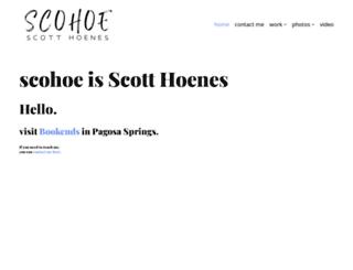 scohoe.com screenshot