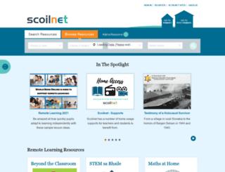 scoilnet.ie screenshot