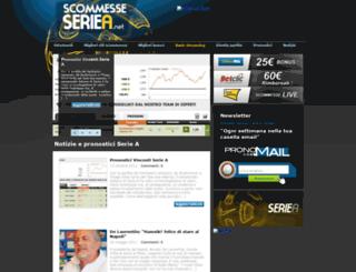 scommesseseriea.net screenshot