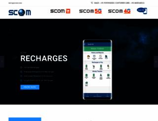 scomrecharge.com screenshot