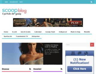 scoopblog.bloo.it screenshot