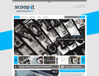 scoopit.co.nz screenshot