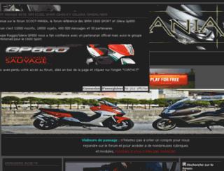 scoot-mania.com screenshot
