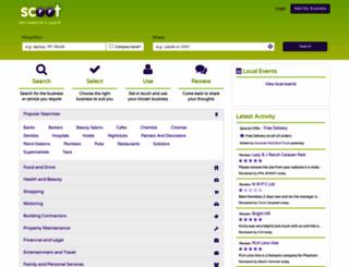 scoot.co.uk screenshot