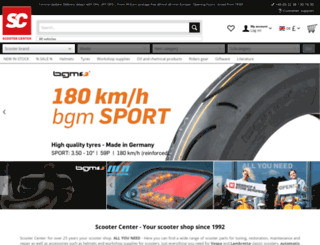 scootercenter.de screenshot