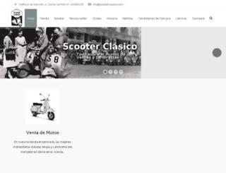 scooterclasico.com screenshot