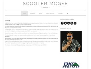 scootermcgee.com screenshot