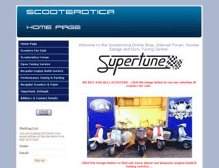 scooterotica.net screenshot