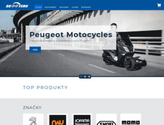 scooters.cz screenshot