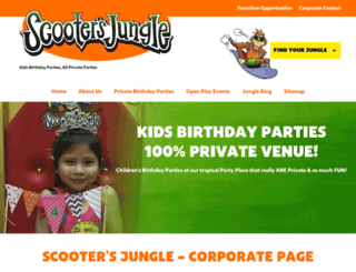 scootersjungle.com screenshot