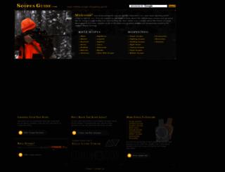scopesguide.com screenshot