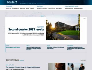 scor.com screenshot