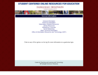 score.fdu.edu screenshot