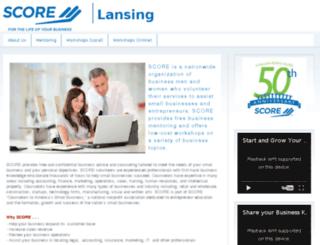 scorelansing.org screenshot
