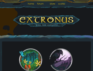 scores.extronus.net screenshot