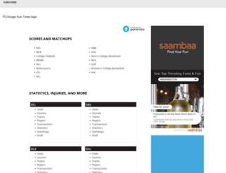 scores.suntimes.com screenshot