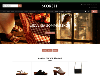 scorett.se screenshot