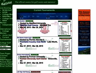 scoring.golfstatresults.com screenshot