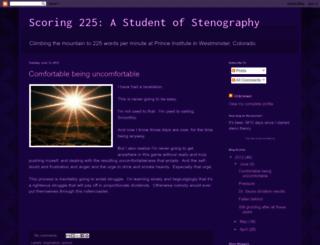 scoring225.blogspot.com screenshot