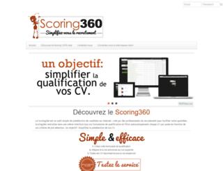 scoring360.com screenshot