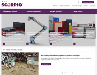scorpio.com.pl screenshot