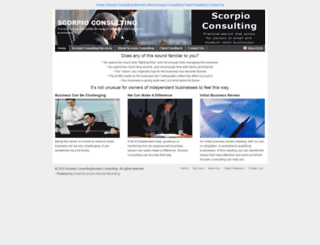 scorpioconsulting.com.au screenshot