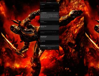 scorpion.ishoutbox.com screenshot