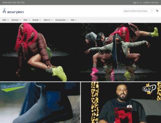 scorpionshoes.co.uk screenshot