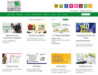 scortecci.com.br screenshot