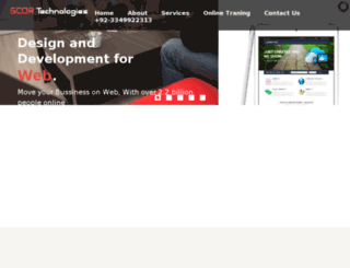 scortechnologies.com screenshot