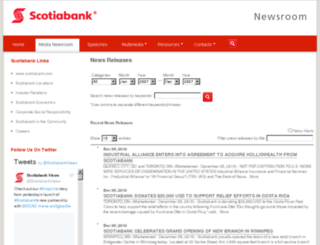 scotiabank.mwnewsroom.com screenshot