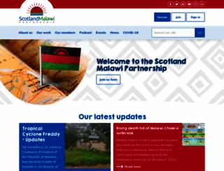 scotland-malawipartnership.org screenshot