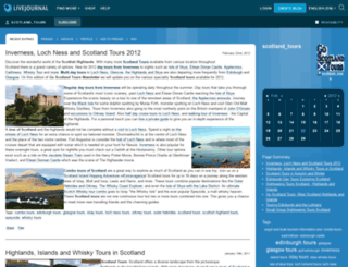 scotland-tours.livejournal.com screenshot