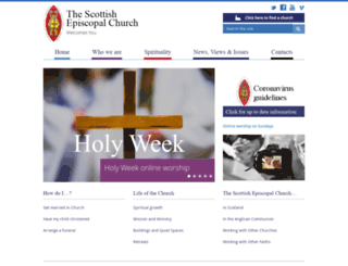 scotland.anglican.org screenshot
