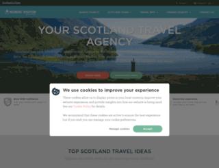 scotland.nordicvisitor.com screenshot