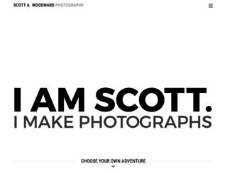 scottawoodward.com screenshot