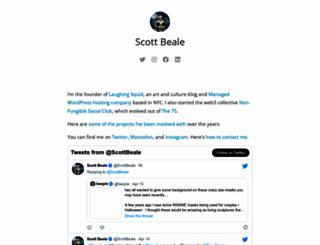 scottbeale.org screenshot