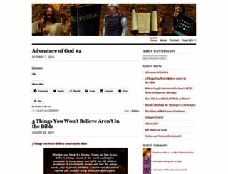 scotteriology.wordpress.com screenshot