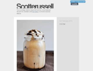 scotterussell.tumblr.com screenshot