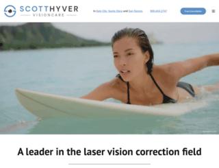 scotthyver.com screenshot