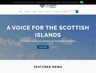 scottish-islands-federation.co.uk screenshot