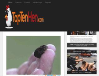 scottishcomedy.toptenhen.com screenshot