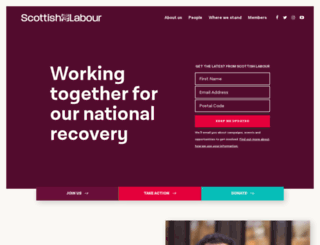 scottishlabour.org.uk screenshot